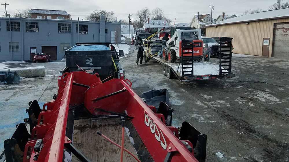 Bobcat Snow Removal